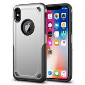 Rugged Armor Skal till Apple iPhone XS / X - Silver
