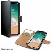 Celly Wallet Case (iPhone Xr) - Svart