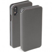 Krusell Pixbo 4 Card Foliocase iPhone XR - Grey