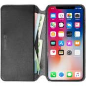 Krusell Pixbo 4 Card Foliocase iPhone XR - Svart