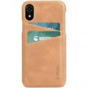 Krusell Sunne 2 Card Cover iPhone XR - Nude