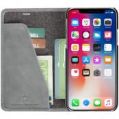 Krusell Sunne Foliowallet iPhone Xr - Grey