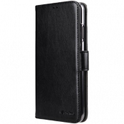 Melkco Walletcase iPhone XR - Svart