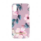 Onsala Collection mobilskal till iPhone XR - Shine Dusty Pink viol