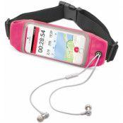 Celly Runbelt (iPhone Xs Max/Plus) - Svart