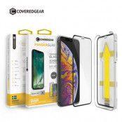 CoveredGear härdat glas skärmskydd till iPhone 11 Pro Max / Xs Max - Svart