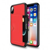 Dux Ducis Pocard Case (iPhone Xs Max) - Röd