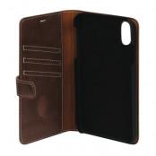 Essentials Magnet Wallet (iPhone Xs Max) - Brun