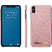 iDeal of Sweden Saffiano Case (iPhone Xs Max) - Rosa