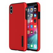 Incipio DualPro (iPhone Xs Max) - Röd/svart