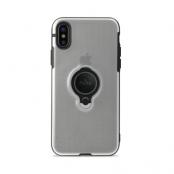 Puro iPhone XS Max Magnet Ring Cover - Transparent