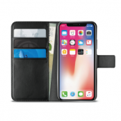 Puro iPhone XS Max Milano EcoLeather Wallet - Svart
