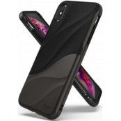 Ringke Wave Skal till Apple iPhone XS Max - Metallic Chrome
