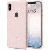 Spigen Liquid Crystal Glitter (iPhone Xs Max) - Rosa