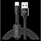 Mcdodo Lightning data cable Lightning ha/ho USB-A 1,2m - Svart