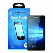 CoveredGear Clear Shield skärmskydd till Microsoft Lumia 950