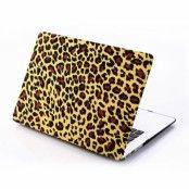 "Skal till MacBook Pro 15"""" Retina - Gul Leopard"