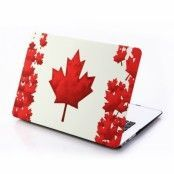 "Skal till MacBook Pro 15"""" Retina - Red Maple Leaf"