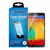 CoveredGear Clear Shield skärmskydd till Samsung Galaxy Note 3