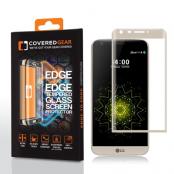 CoveredGear Edge to Edge härdat glas till LG G5 - Gold
