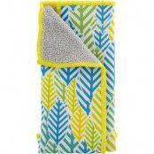 DELTACO Microfiberduk, för rengöring av bildskärmar, grön/blå/gul
