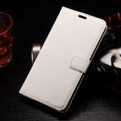 Crazy Horse Plånboksfodral till LG G4 Stylus - Vit