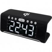 Soundmaster UR800SW - Klockradio Med Qi-laddning