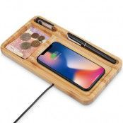 Trolsk Wooden Qi Charger 15W
